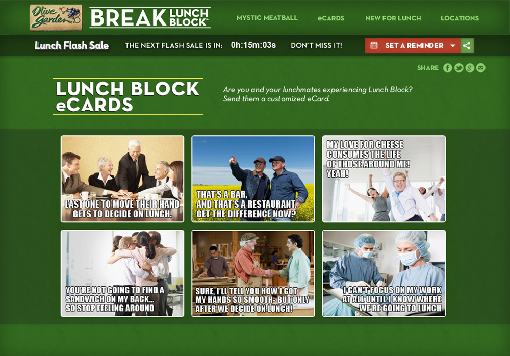 chrisdegnen.com » Olive Garden / Break Lunch Block