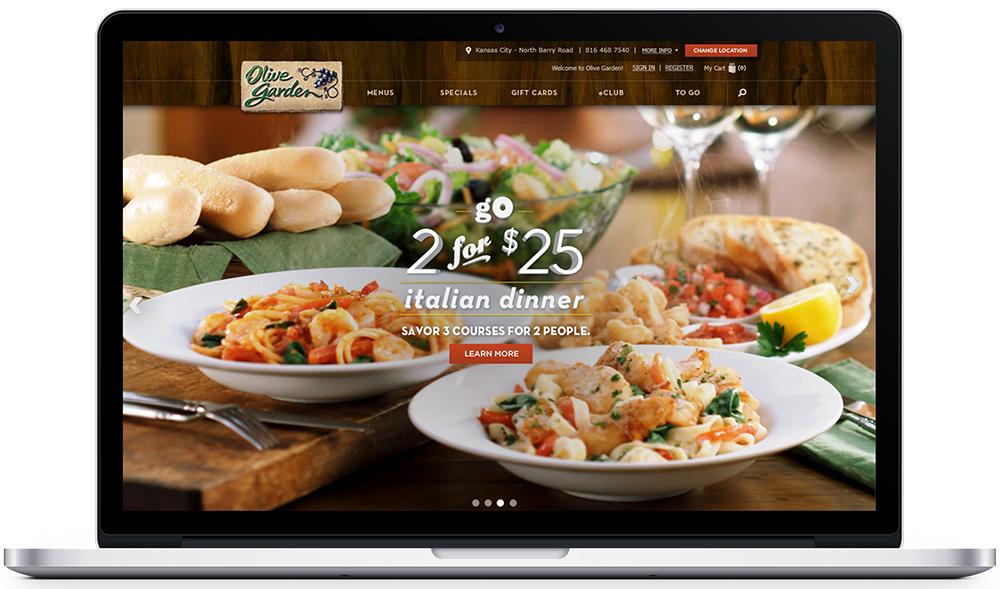 chrisdegnencom Olive Garden Digital Platform